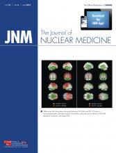 Journal of Nuclear Medicine: 55 (6)