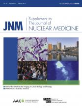 Journal of Nuclear Medicine: 56 (Supplement 1)