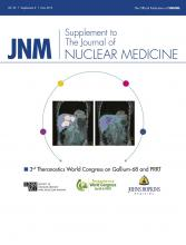 Journal of Nuclear Medicine: 56 (Supplement 2)