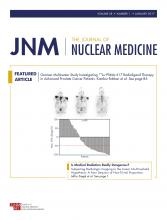 Journal of Nuclear Medicine: 58 (1)