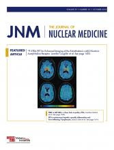 Journal of Nuclear Medicine: 59 (10)