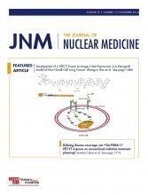 Journal of Nuclear Medicine: 59 (11)