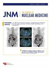 Journal of Nuclear Medicine: 59 (5)