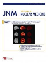 Journal of Nuclear Medicine: 60 (8)