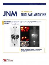 Journal of Nuclear Medicine: 60 (9)