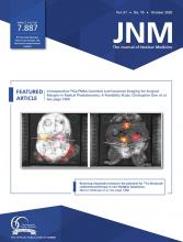 Journal of Nuclear Medicine: 61 (10)
