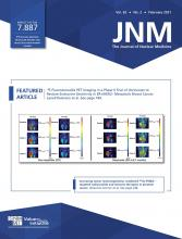 Journal of Nuclear Medicine: 62 (2)