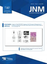 Journal of Nuclear Medicine: 62 (6)