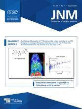 Journal of Nuclear Medicine: 62 (8)
